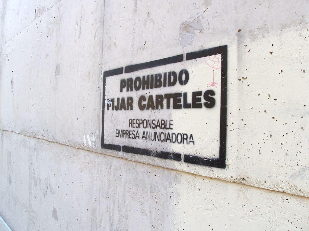 prohibido ciclismo