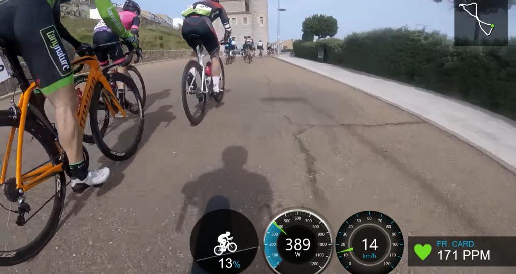 Carrera master ciclismo master