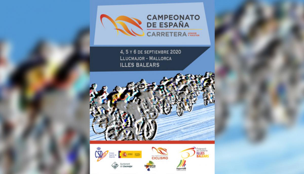 Campeonato de España de Carretera Junior y Máster 2020 de LLucmajor
