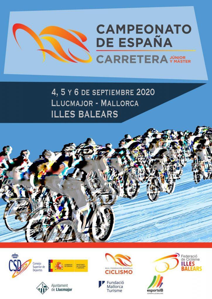 Cartel oficial Campeonato de España máster