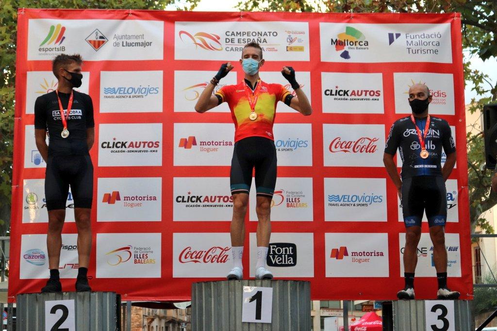 podio Master 30 Llucmajor Ciclismo Master 2020