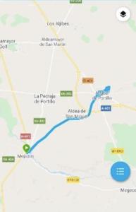 Recorrido CRI campeonato españa ciclismo 2021
